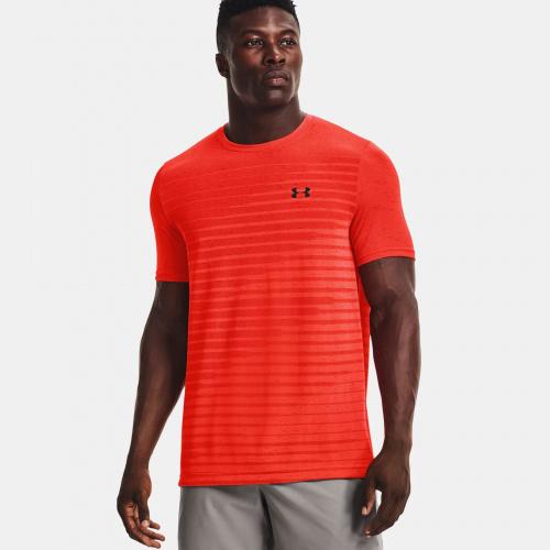 Îmbrăcăminte - Under Armour UA Seamless Fade Short Sleeve   Fitness