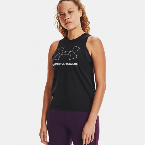 Îmbrăcăminte - Under Armour UA Sportstyle Graphic Tank 6297 | Fitness