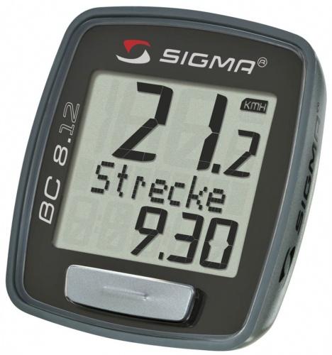 Ciclocomputer - Sigma Sigma BC 8.12   Biciclete-accesorii