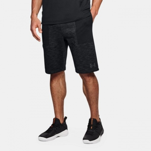 Imbracaminte - Under Armour Baseline Fleece Shorts 9847 | Fitness