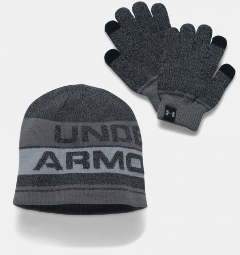 Accesorii - Under Armour Beanie & Glove Combo Set 0443 | Fitness