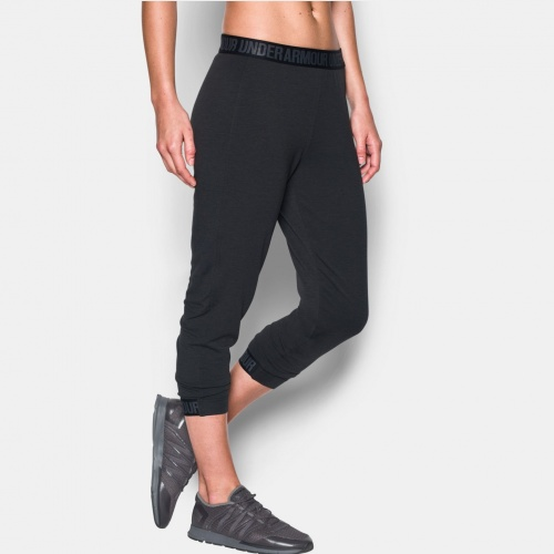 Imbracaminte - Under Armour Featherweight Fleece Crop Pants 4505 | Fitness