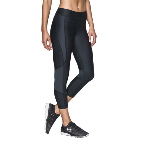 Imbracaminte - Under Armour HG Armour Printed Crop | fitness