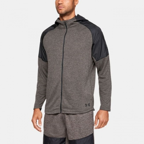 Imbracaminte - Under Armour MK-1 Terry Full Zip Hoodie 7404 | Fitness