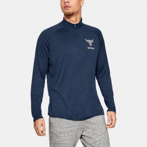 Imbracaminte - Under Armour Project Rock Tech Half Zip 5822 | Fitness