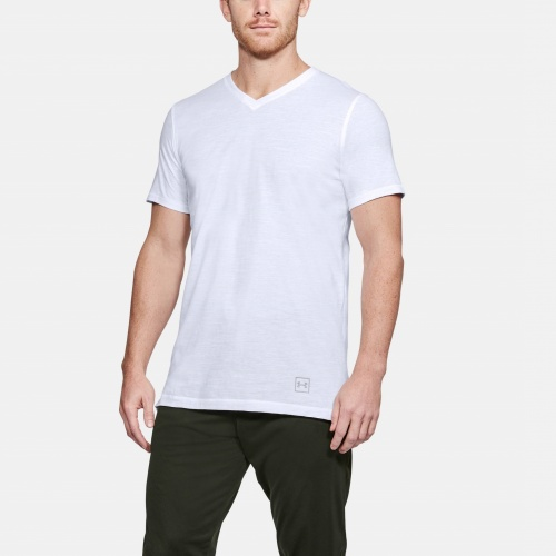 Imbracaminte - Under Armour Sportstyle Core V-Neck T-Shirt 6492 | Fitness