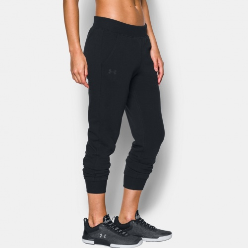 Imbracaminte - Under Armour Threadborne Fleece Crop Pants 0291 | Fitness