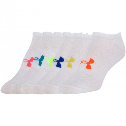 Accesorii - Under Armour UA Solid No Show Socks 6-Pack 2701  | Fitness