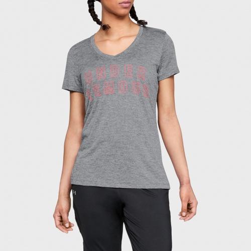 Îmbrăcăminte - Under Armour UA Tech Twist Graphic V-Neck T-Shirt 9898 | Fitness