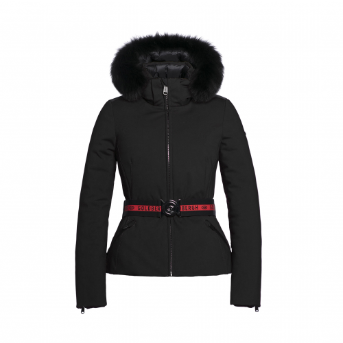 Geci Ski & Snow - Goldbergh Hida Real Fur Sofsthell Jack   Imbracaminte-snow