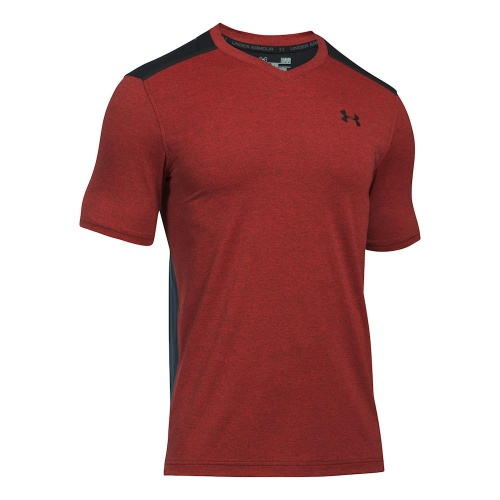 Imbracaminte - Under Armour Threadborne Center Court Printed V-Neck 4438 | Tenis