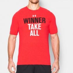 fitness under armour-Winner Take All T-Shirt